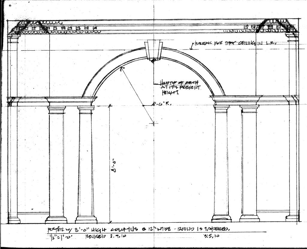 Front Elevation Molding : Decorative molding and trim wilson kelsey design