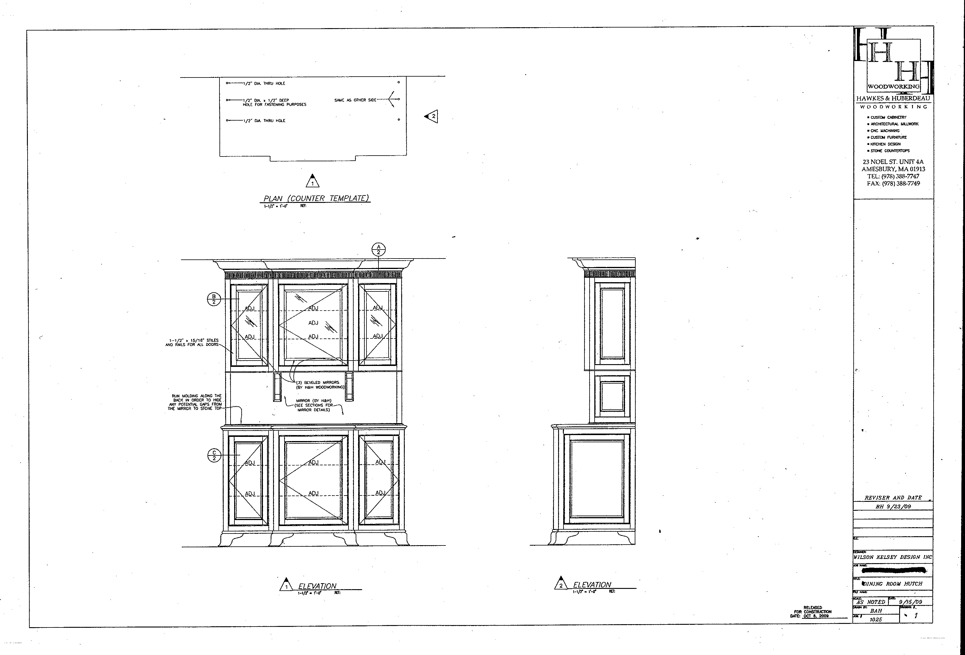 The Story/Design of a Dining Room Hutch | Wilson Kelsey Design Blog